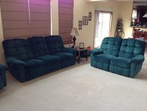 Reclining Couch, Loveseat and Chair. in Oswego, Illinois