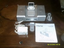 IHOME SYSTEM WITH RECHARGEABLE DOCK FOR IPAD WITH IT IS IPOD AND PORTABLE CONTROL  AM-FM RADIO,I... in Oswego, Illinois