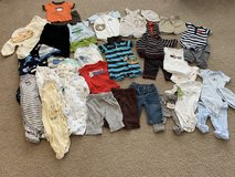 3 month & 3-6 month clothing lot - 39 pieces in Oswego, Illinois
