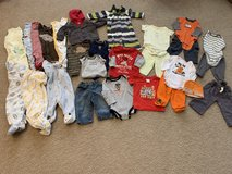 6 month clothing lot - 27 pieces in Oswego, Illinois