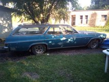 1966 Chevy Impala station wagon in Fort Polk, Louisiana