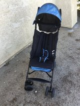 Summer stroller in 29 Palms, California