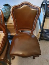 6 Antique chairs - over 110 years old. Original leather. in Stuttgart, GE