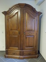 Solid wooden cabinet in Ramstein, Germany