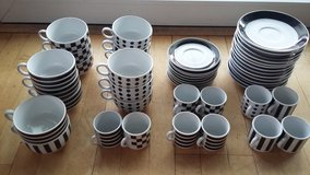 Coffee Set black and white in Ramstein, Germany