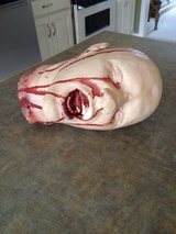 Halloween severed head in Fort Benning, Georgia