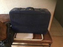 Navy Blue Large Suitcase in Joliet, Illinois