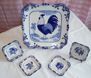 Rooster & Fruit Plate Set *Reduced* in Naperville, Illinois