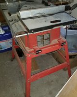 10 inch table saw with extension rollers in Beaufort, South Carolina