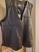 Harley Davidson Tradition 2 Leather Vest in Fort Knox, Kentucky