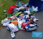 REDUCED: 18-24 months boys (with some 2T) clothes- HUGE lot in Naperville, Illinois
