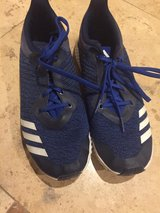 Adidas FortaRun Boys BA9489 RUNING SHOES BLUE/WHITE SIZE 7 in Naperville, Illinois