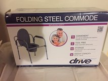 Drive Medical Steel Folding Bedside Commode BRAND NEW in Naperville, Illinois