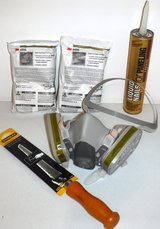 3M Reusable Respirator ~ 2 Refill Packs ~ Wallboard Saw + Liquid Nails in Westmont, Illinois