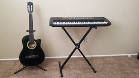 Guitar and electric keyboard for sale in 29 Palms, California