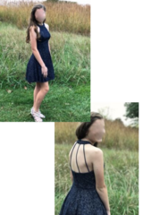 Homecoming Dress--Size 1 in Bolingbrook, Illinois