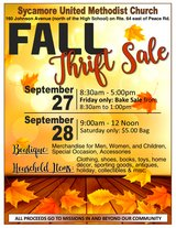 Fall Mission Thrift Garage Sale in Sycamore Il ( Dekalb Area) in DeKalb, Illinois