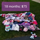 18 month girls clothes- HUGE lot: REDUCED in Joliet, Illinois