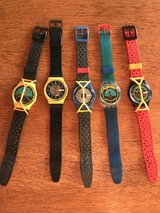 1980's Swatch Watches in Warner Robins, Georgia