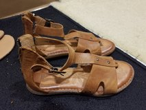 Leather shoes in Okinawa, Japan