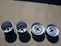 Set of ATV RIMS in Alamogordo, New Mexico