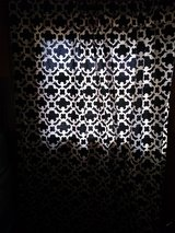 Pair of damask curtains in Fort Campbell, Kentucky
