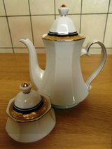Coffeepot and sugar bowl in Ramstein, Germany