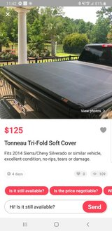gmc sierra tonneau cover in Fort Campbell, Kentucky