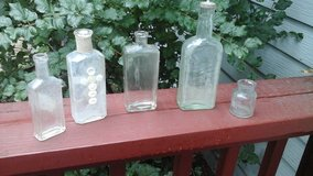 Antique  Glass Bottle Collection in Glendale Heights, Illinois