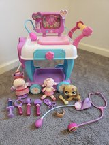 Doc McStuffins Lot & Vet Clinic Cart in Fort Campbell, Kentucky