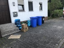 Weekly Junk removal, trash hauling, debris disposal in Ramstein, Germany
