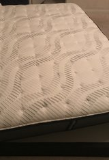 King Cushion Firm Mattress with Box spring in Baytown, Texas