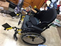 quickie 2 wheelchair with upgrade back support in Plainfield, Illinois