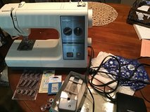 Kenmore sewing machine and accessories in Plainfield, Illinois