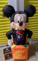 NEW 4ft. Mickey Mouse Halloween Inflatable in Kingwood, Texas