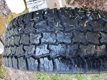 Truck tire in Camp Lejeune, North Carolina