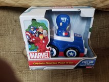 Marvel captain America push n go new in Plainfield, Illinois