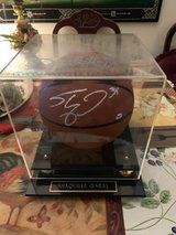 Shaquille O'Neal Signed Basketball w/stand in 29 Palms, California