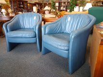 2 Blue Club Chairs in Bolingbrook, Illinois