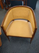Gold and Cream Side Chair in Bolingbrook, Illinois
