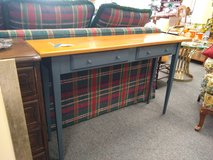 Sofa Table with Blue Legs in Oswego, Illinois