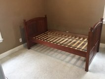 Twin bed frame from Costco in Westmont, Illinois