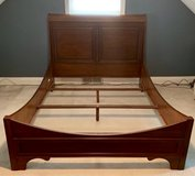 CHERRY QUEEN SLEIGH BED FRAME in Westmont, Illinois