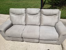 Grey Microfiber Couchs in Kingwood, Texas