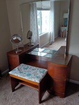 Vintage vanity, chest of drawers, nightstand in Westmont, Illinois