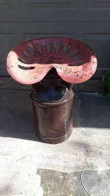 Antique Milk Can With Seat in Kingwood, Texas
