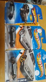 Hot Wheels Delorean set in Chicago, Illinois