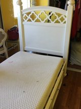 Girls Twin bed and nightstand in Camp Pendleton, California