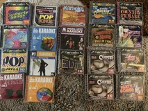 karaoke machine & 19 karaoke cd's in Kingwood, Texas