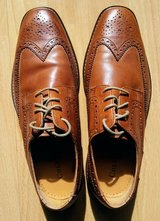 New Cole Haan Oxford Wingtip Leather Shoes Size:8 in Ramstein, Germany